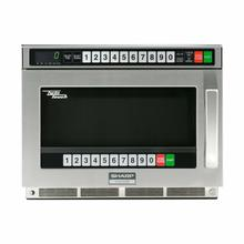 Sharp TwinTouch 1800 Watt Commercial Microwave Oven with Dual TouchPads