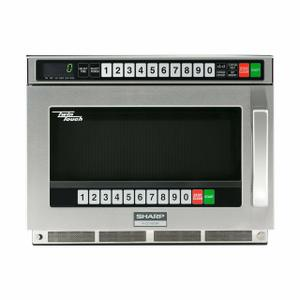 Sharp AppliancesSharp TwinTouch 1800 Watt Commercial Microwave Oven with Dual TouchPads