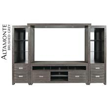 "Altamonte 78"" Media Bridge - Brushed Grey"