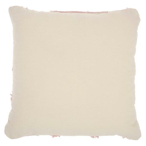 "Life Styles Dl901 Blush 18"" X 18"" Throw Pillow"
