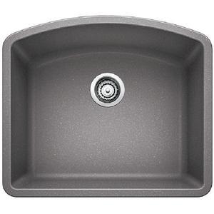 Diamond Single Bowl - Metallic Gray