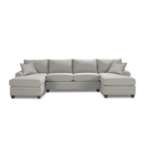 Carolina Sock Arm Double Chaise Sectional
