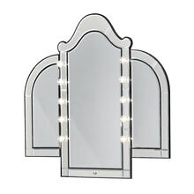 See Details - Vanity Mirror Black Iguana