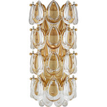 AERIN Liscia 1 Light 6 inch Gild Sconce Wall Light