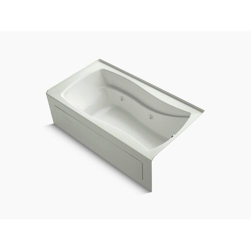 "Dune 66"" X 36"" Alcove Whirlpool With Integral Apron, Integral Flange and Right-hand Drain"