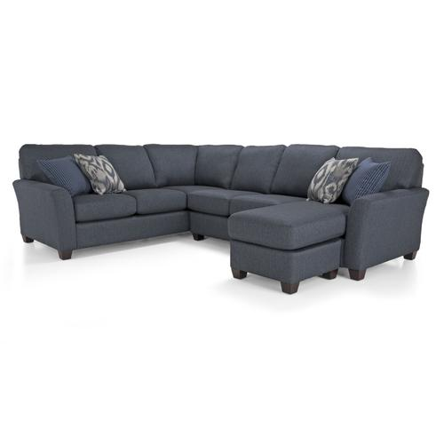 Decor-rest - 2A-20 RHF Sofa with Chaise