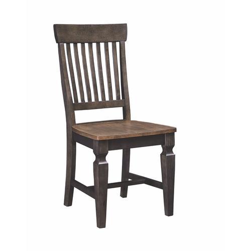 John Thomas Furniture - Statback Chair in Hickory & Coal