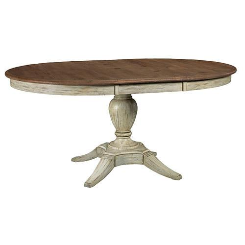 Weatherford Cornsilk Milford Round Dining Table