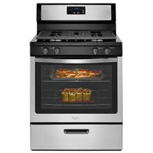 View Product - 5.1 cu. ft. Freestanding Gas Range with Under-Oven Broiler