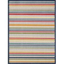 """Calla 6927 Ivory/multi Stripes 5'3"""" X 7'"""