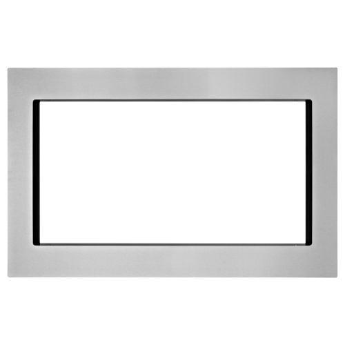 Maytag - Countertop Microwave Trim Kit, Anti-Fingerprint Stainless Steel