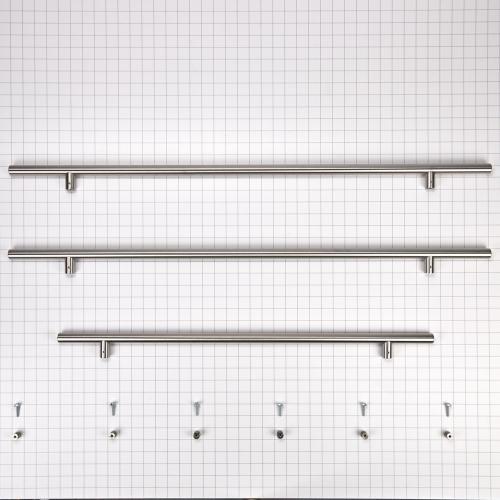French Door Bottom Mount Refrigerator Euro/Towel Bar Style Handle Kit
