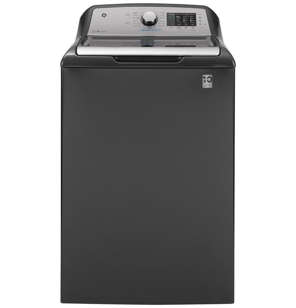 GEGe(r) 4.8 Cu. Ft. Capacity Washer With Sanitize W/oxi And Flexdispense(tm)