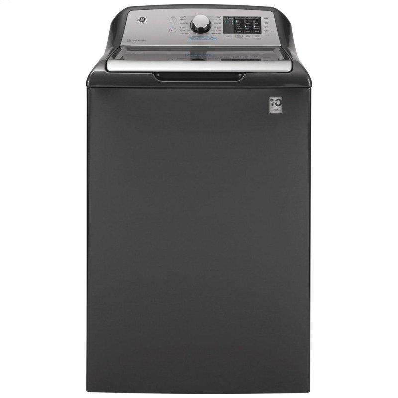 GE(R) 4.8 cu. ft. Capacity Washer with Sanitize w/Oxi and FlexDispense(TM)