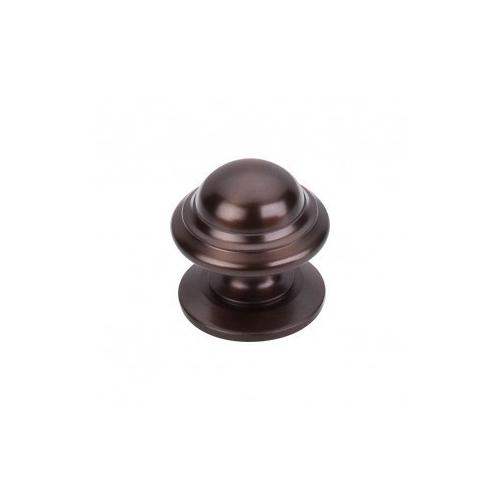 Top Knobs - Empress Knob 1 3/8 Inch - Oil Rubbed Bronze