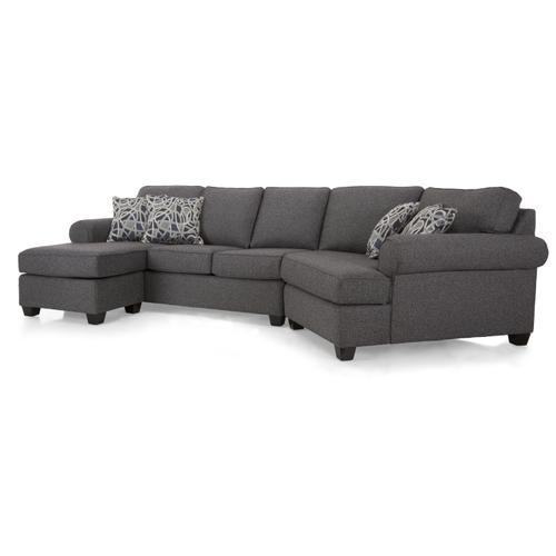 2583 LHF Sofa w/chaise