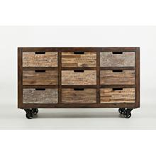 Painted Canyon 9 Drawer Accent Chest
