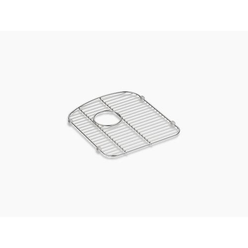 "Stainless Steel Smart Divide Stainless Steel Sink Rack, 13-1/2"" X 15-1/4"", for Right-hand Bowl"