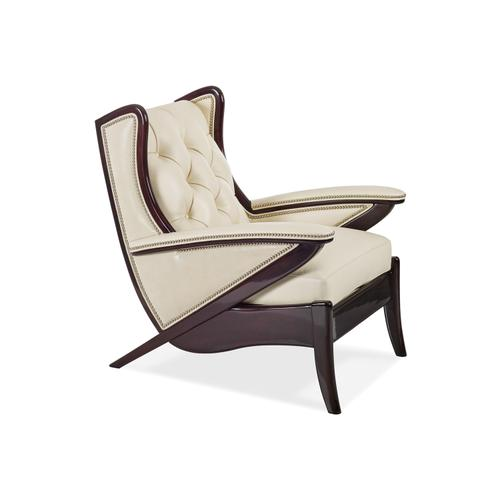 5910-1-T BOOMERANG TUFTED CHAIR
