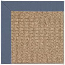"Creative Concepts-Raffia Canvas Sapphire Blue - Rectangle - 24"" x 36"""