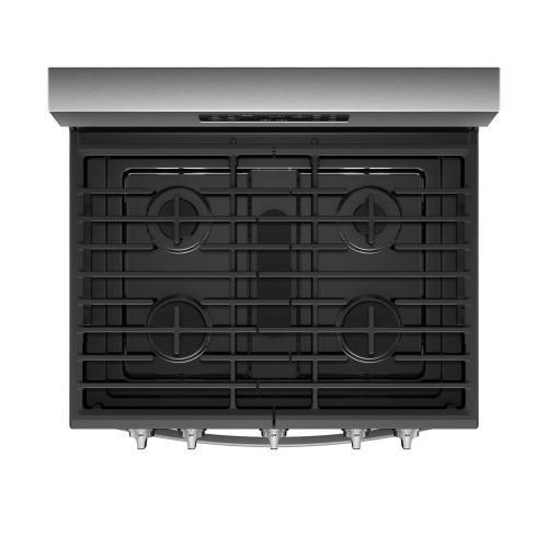 Whirlpool Canada - 5.8 Cu. Ft. Freestanding Gas Range with Frozen Bake™ Technology