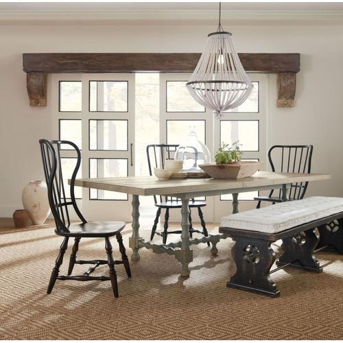 Dining Room Ciao Bella 84in Trestle Table Base- Gray