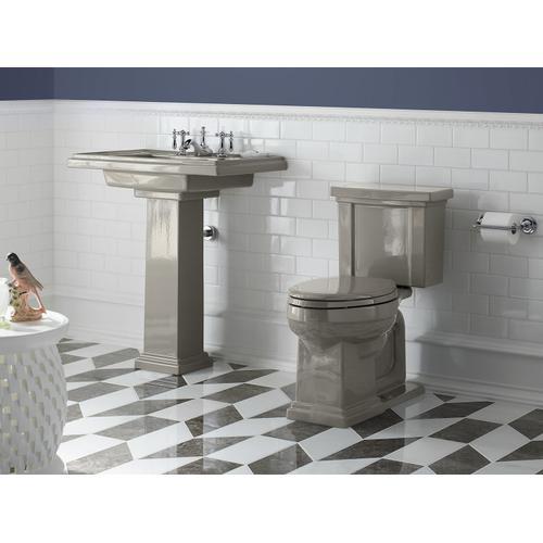 Vibrant Brushed Moderne Brass Pivoting Toilet Paper Holder