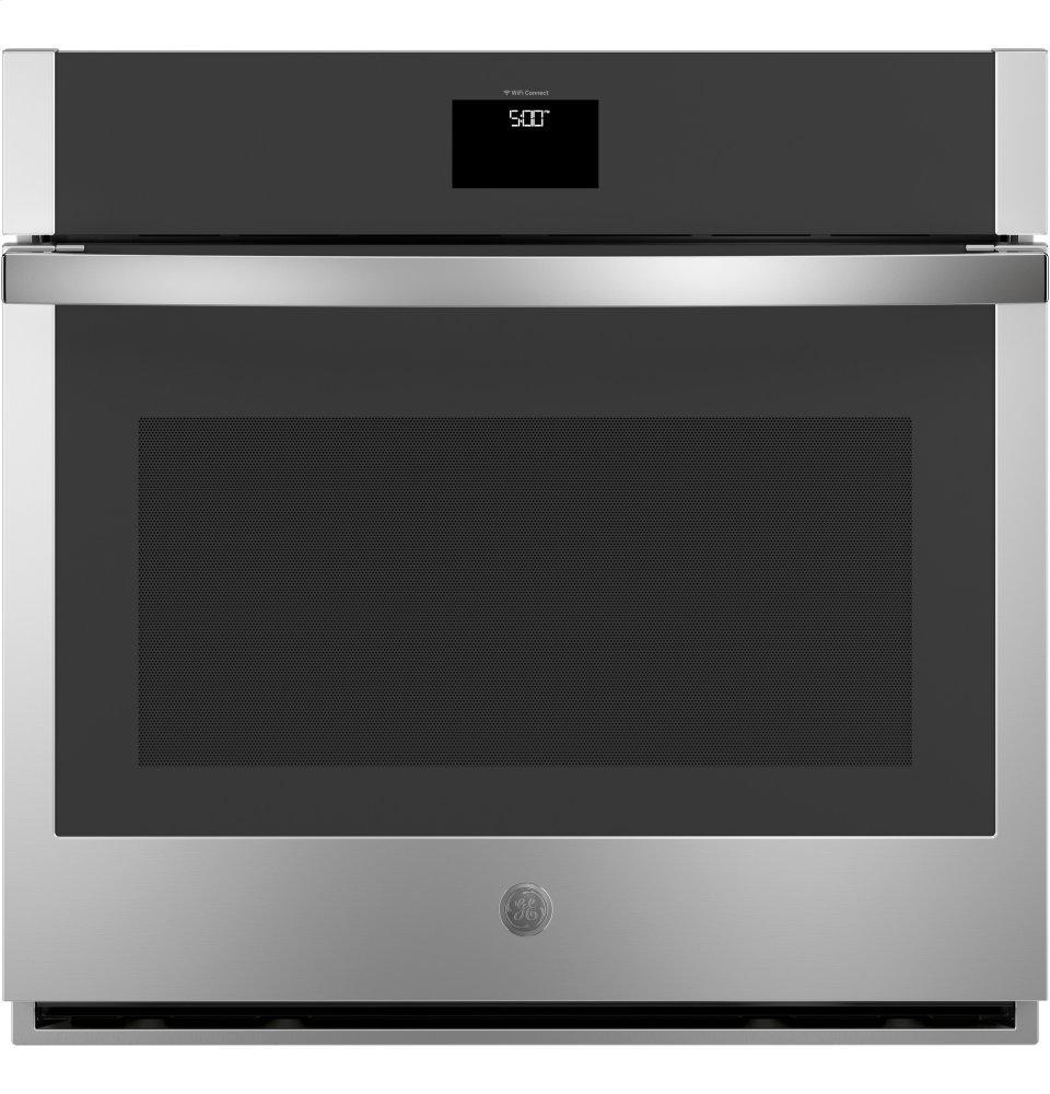 """GEGe® 30"""" Smart Built-In Self-Clean Convection Single Wall Oven With Never Scrub Racks"""