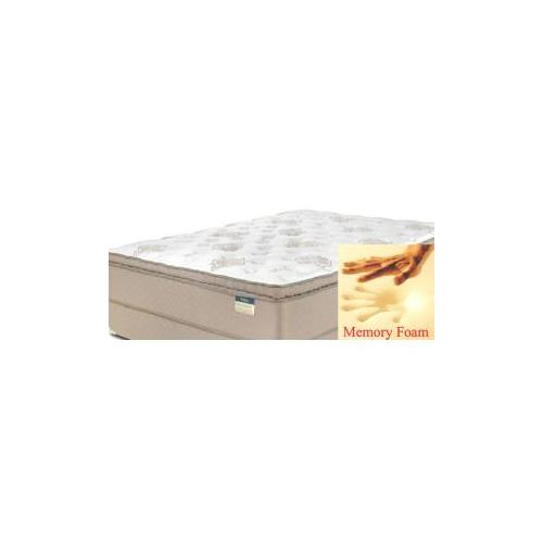 Comfortec - Comfortec -Stafford Continuous Coil - Gel Foam - Pillow Top - Queen