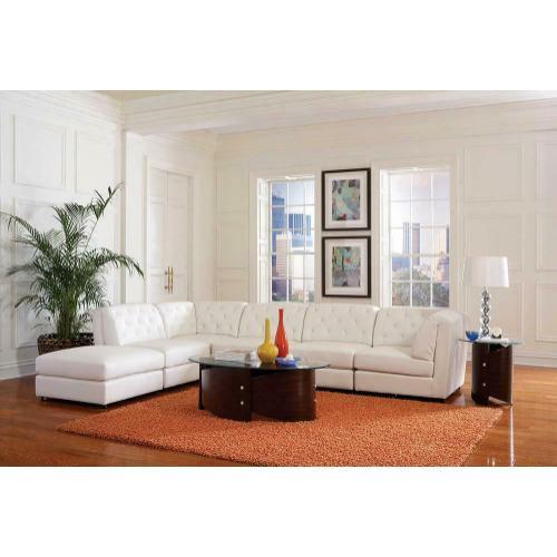 Quinn Transitional White Corner