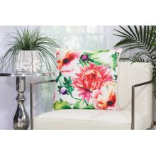 "Outdoor Pillows T1715 Multicolor 20"" X 20"" Throw Pillow"
