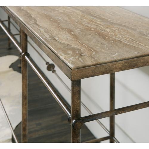 Hooker Furniture - La Grange St James Metal and Stone Console
