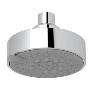 "Polished Chrome 4"" Ecomodern 5-Function Showerhead Product Image"