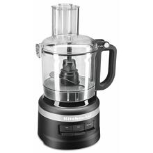 See Details - 7 Cup Food Processor - Black Matte