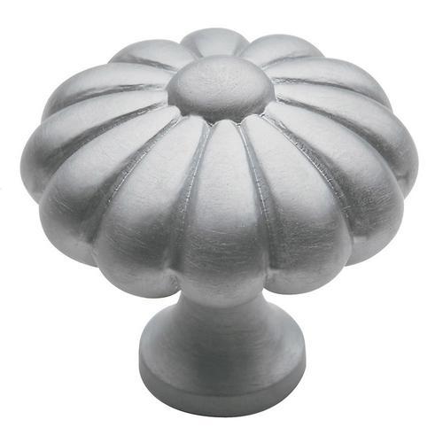 Baldwin - Satin Chrome Melon Knob