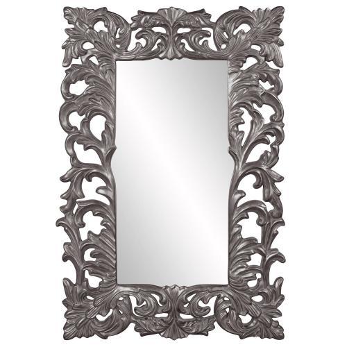 Howard Elliott - Augustus Mirror - Glossy Charcoal