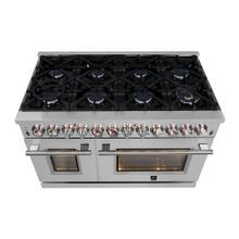 "View Product - Grattino - Platinum Professional 48"" Freestanding Gas Range"