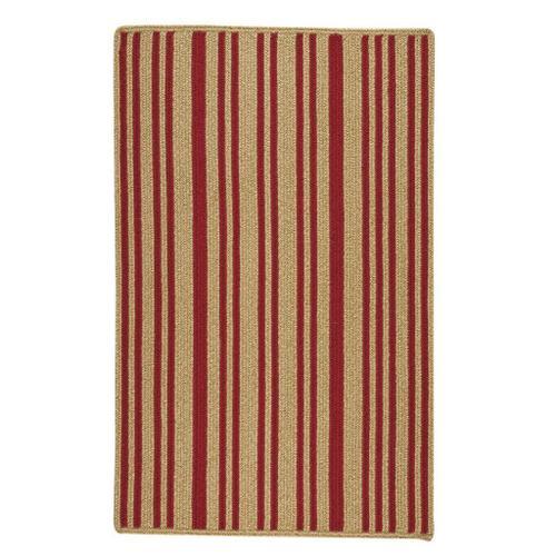 Capel Rugs - LM-Red Stripe Scarlet - Vertical Stripe Rectangle - 3' x 5'