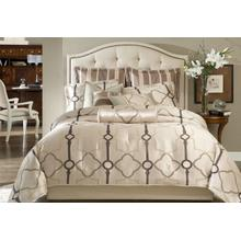 See Details - 10 Pc King Comforter set Pearl