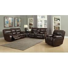 Banner Brown Leather Gel Sofa and Loveseat Set