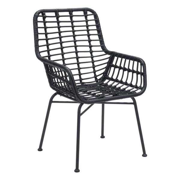 See Details - Lyon Dining Chair Black
