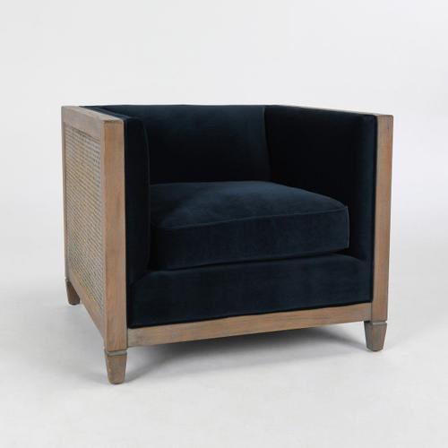 Classic Home - Lilith Club Chair Midnight Blue