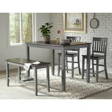 Decatur Lane 4 Pack - Table, (2) Stools, Bench