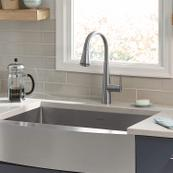 Edgewater Pull-Down Kitchen Faucet with SelectFlo - Stainless Steel
