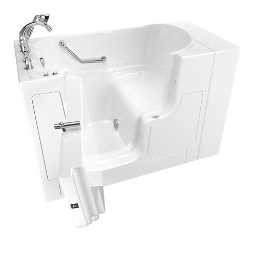 American Standard - Gelcoat Value Series 30x52-inch Walk-In Bathtub with Air Spa System  American Standard - White