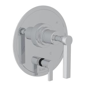 Polished Chrome Campo Pressure Balance Trim With Diverter with Metal Lever Product Image