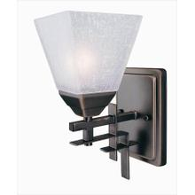 Product Image - Wall Lamp, Dark Bronze W/frost Glass Shade, Type A 60w