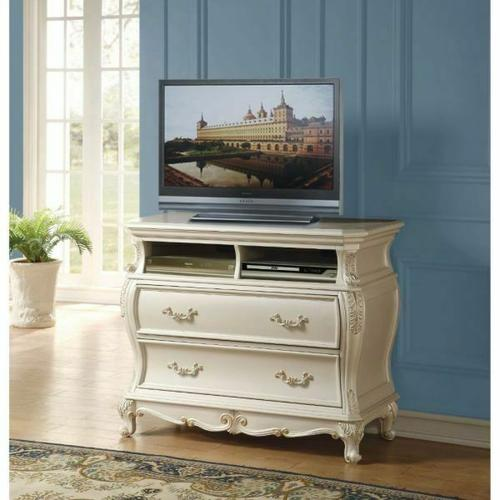 ACME Chantelle TV Console - 23547 - Pearl White