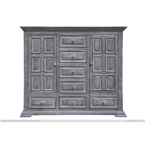 International Furniture Direct - Mule 7 Drawers, 2 Doors