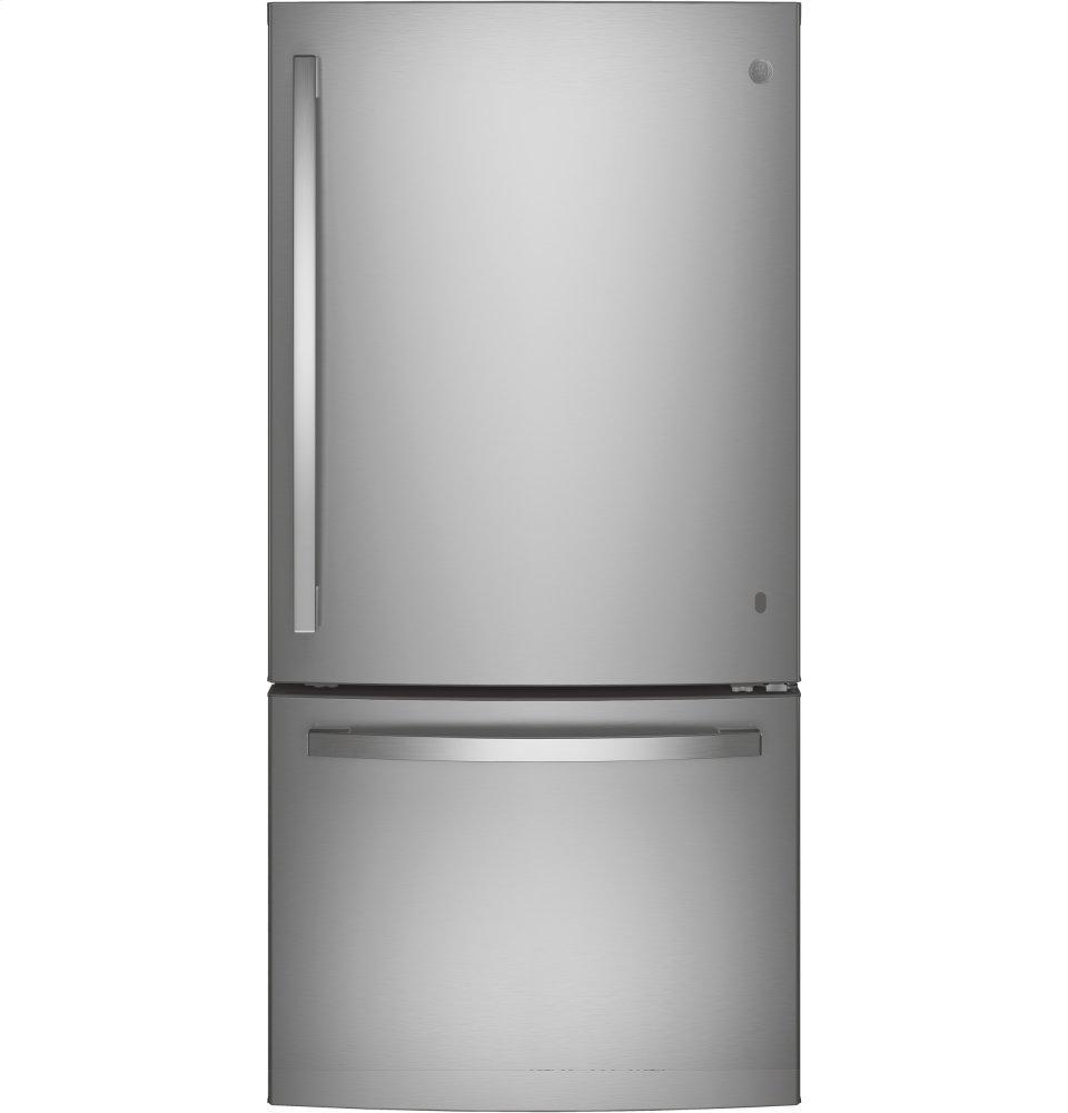 GE®energy Star® 24.8 Cu. Ft. Bottom-Freezer Drawer Refrigerator